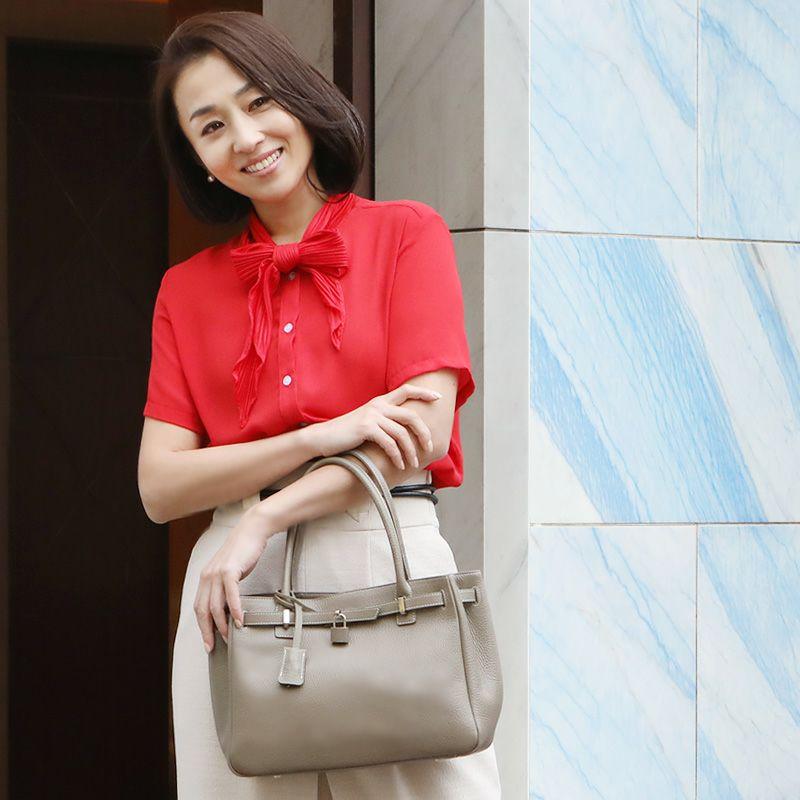 40代女性に人気の「傳濱野(でんはまの)」ブランドバッグ