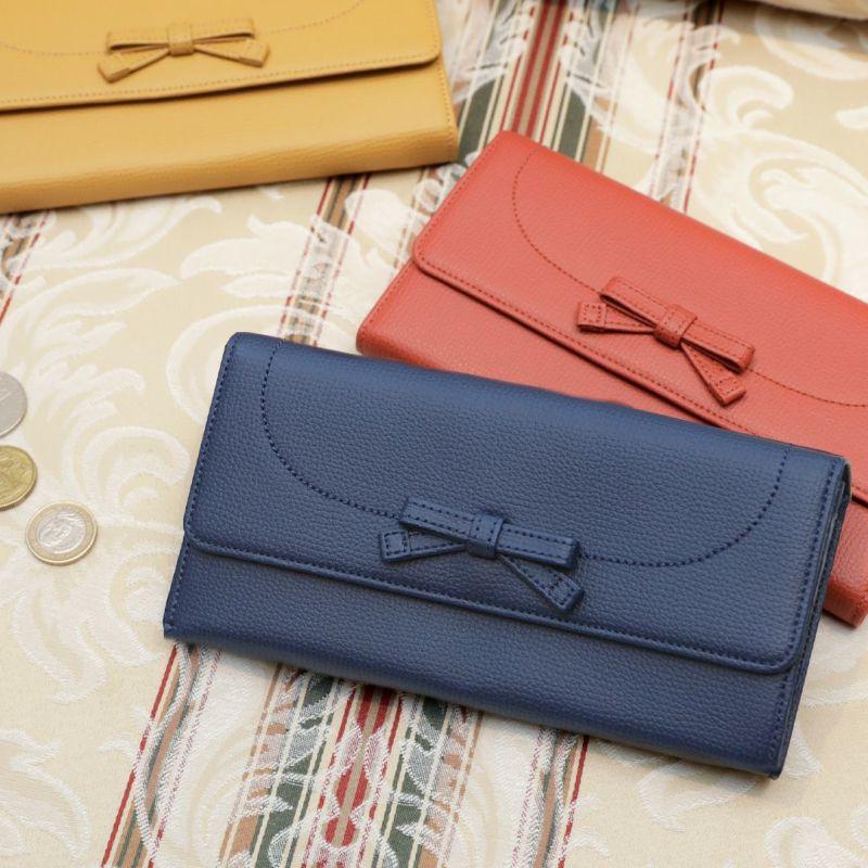 使いやすいかぶせ蓋(ふた)長財布「傳濱野(でんはまの)モーナウォレット」